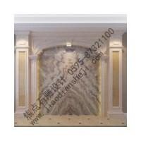 优质的室内背景墙设计当属焦点石雕-手绘背