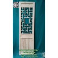 仿古门窗、古典仿古门窗定制、天宏木工艺品