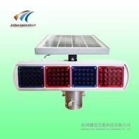 铝壳太阳能爆闪灯 交通安全警示灯图片