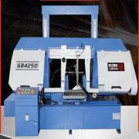 鲁班锯业GB4250卧式金属带锯床 液压控制 大功率电机