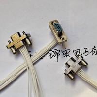 压接J30J-9ZKP J30J-9TJL矩形连接器插头座