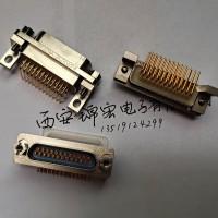 接插件J29A-25ZKW弯插插座矩形连接器生产销售