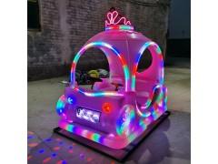 广场出租定时儿童游乐新款碰碰车发光玩具车