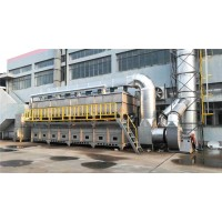 河北RCO催化燃烧喷漆废气治理  小型烟气处理设备