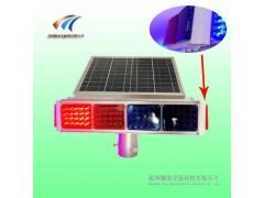 四面爆闪灯侧面2灯 太阳能爆闪灯 交通警示灯生产厂家