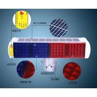 五常一体式太阳能警示灯 双面八格爆闪灯 交通设施