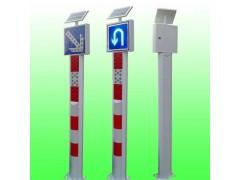 双城太阳能匝道警示桩太阳能交通警示柱交通设施支持定制