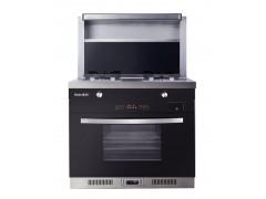 美炊ZK05蒸烤消集成灶容量大满足一家大子的烹饪要求