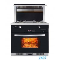 美炊ZK07蒸烤一体集成灶智能预约烹饪简单多了